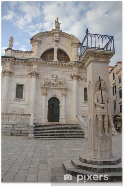Plakát Dubrovnik - Evropa