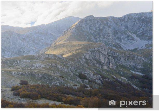 Plakat Durmitor, Czarnogóra - Europa