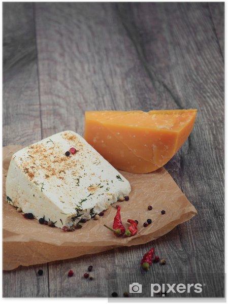 Plakát Dva druhy sýrů - Témata