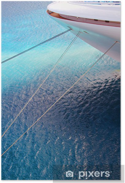 Plakat Dziób statku - Transport wodny