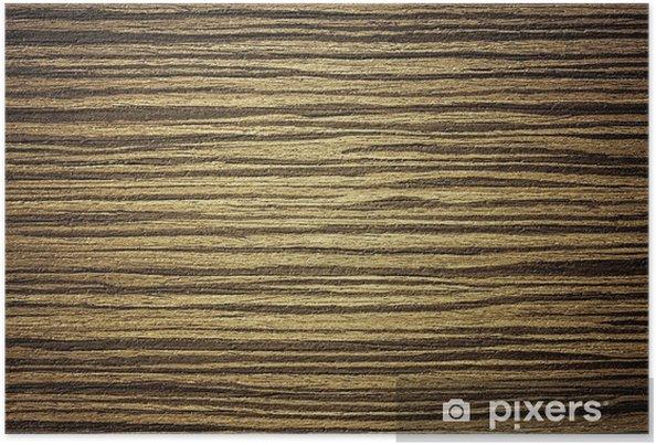 Plakat Egzotyczne drewno tle - Sztuka i twórczość