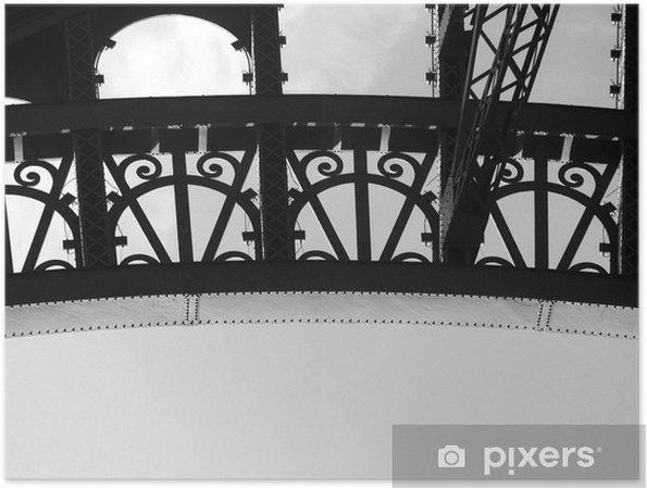 Plakát Eiffelova věž oblouk - Evropa