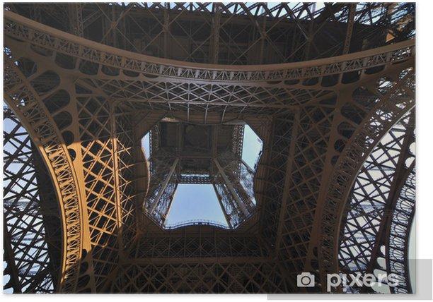 Plakát Eiffelova věž - Evropská města