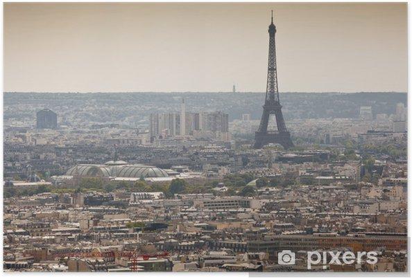 Plakát Eiffelova věž - Soukromé budovy