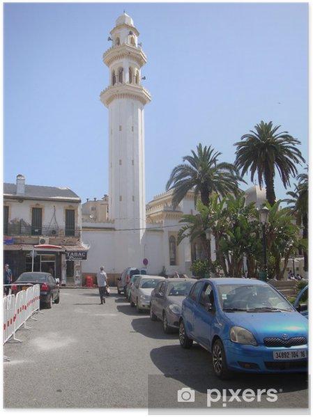 Plakat El-Biar meczet, Algier - Bliski Wschód