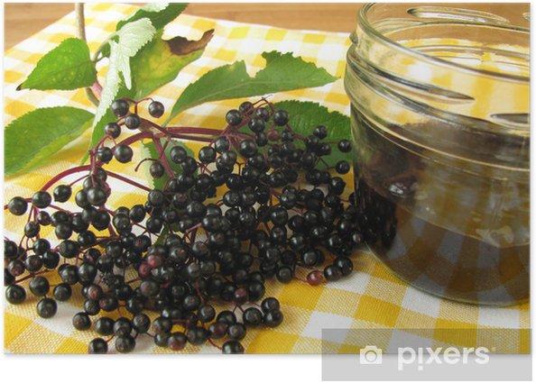 Plakat Elderberry jam - Posiłki