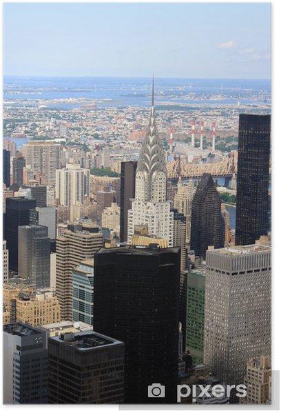 Plakat Empire state building view - Ameryka