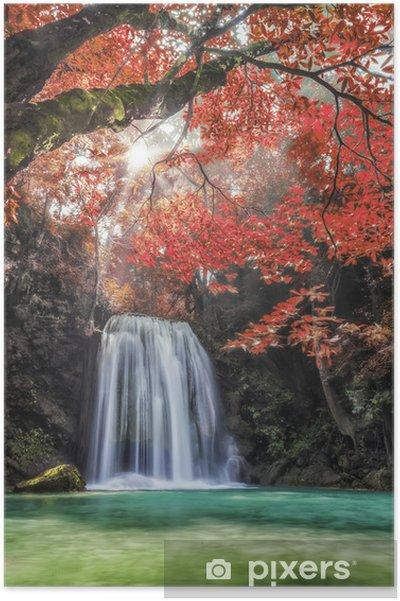 Plakát Erawan Waterfall - Témata