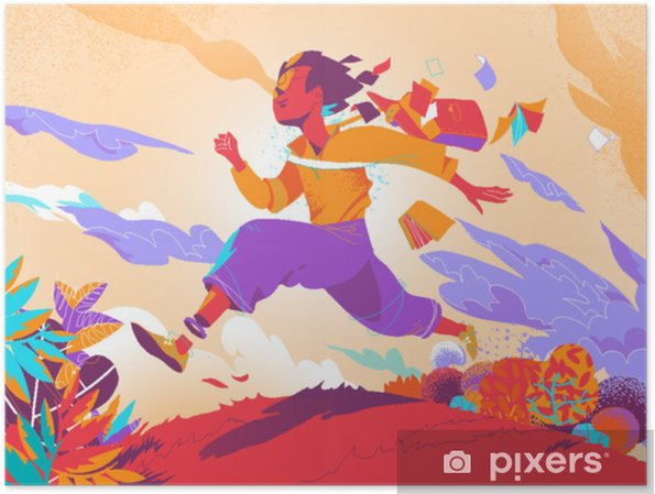 Plakat Esplorare un mondo fantastico - Hobby i rozrywka