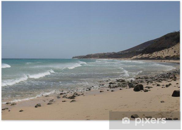 Plakat Esquinzo Beach - Fuerteventura - Woda