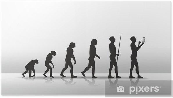 Plakat Evolution2504b - Tablety i e-booki