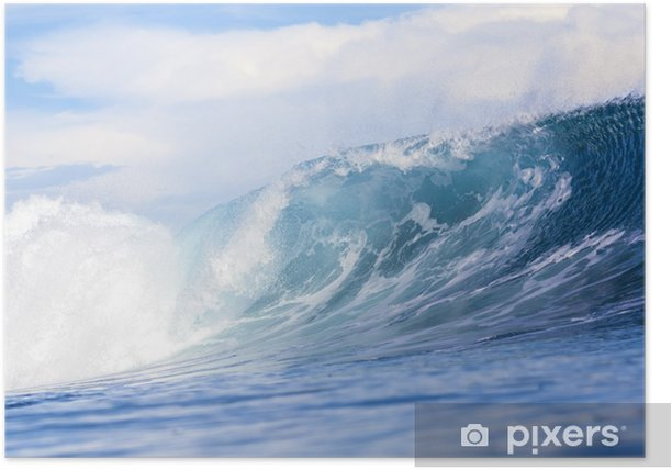 Plakat Fal oceanicznych - Tematy