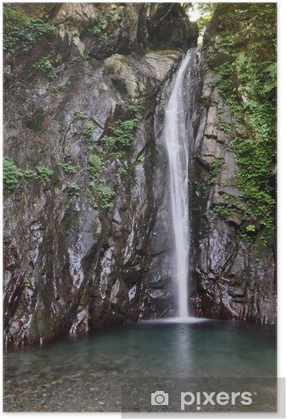 Plakat Falls kołczan Sawa - Cuda natury