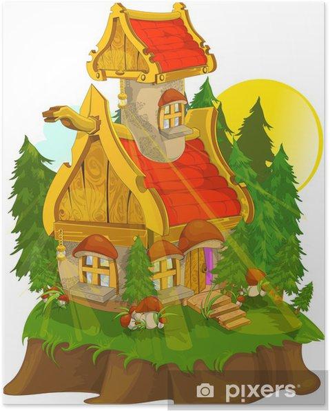 Plakát Fantastický dům - Soukromé budovy