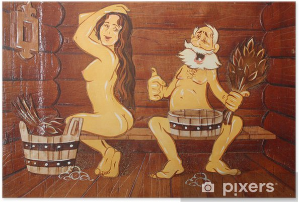 Plakat Fantastyczne skład kąpieli, sauny - Uroda i pielęgnacja ciała