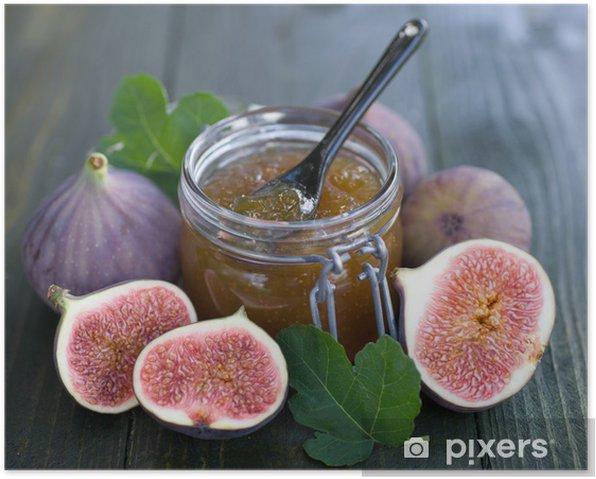 Plakat Feigenmarmelade - Owoce