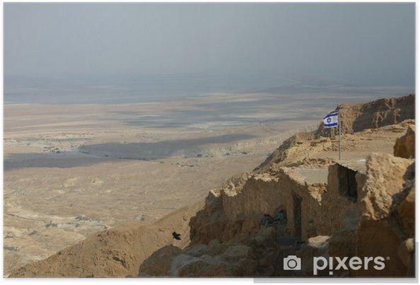 Plakát Festung Masada - Střední Východ