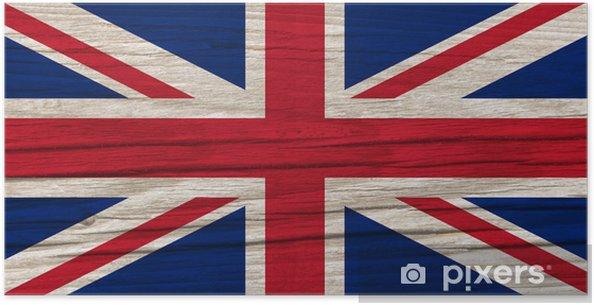 Plakat Flaga Wielkiej Brytanii - Europa