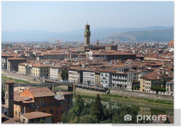 Plakat Florencja panorama - Europa