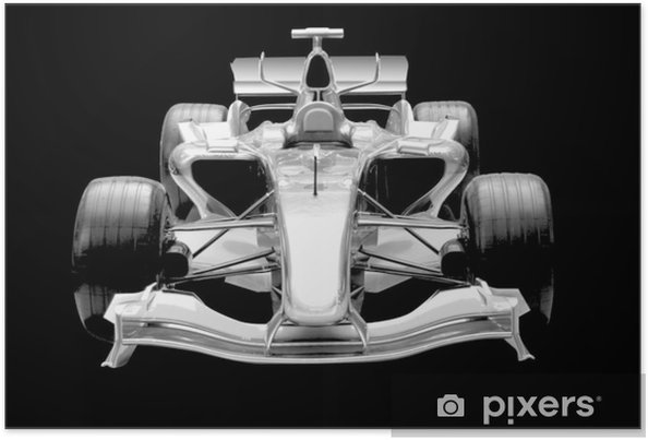 Plakat Formula 1 samochod - Tematy