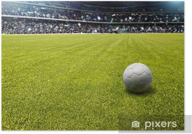 Plakát Fotbalové hřiště - Veřejné budovy