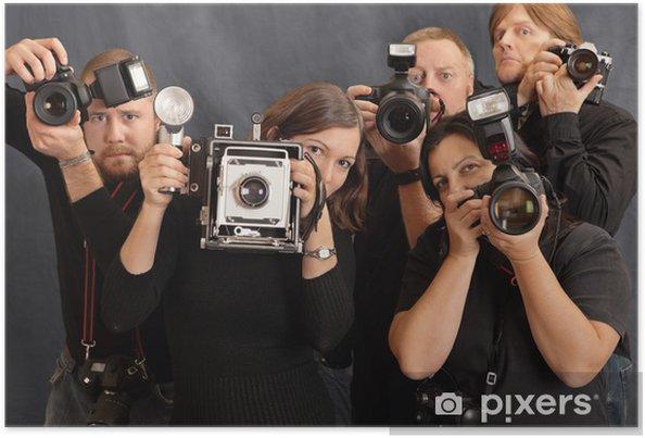 Plakát Fotografové - Profese