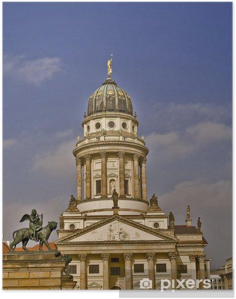 Plakat Francuski dom Berlin Gendarmenmarkt - Miasta europejskie