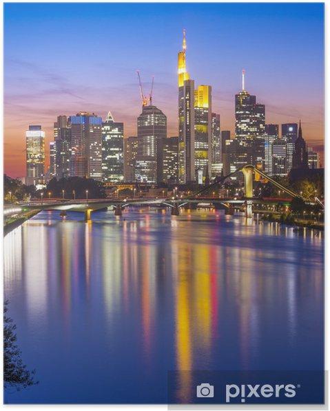 Plakát Frankfurt nad Mohanem Německo - Německo