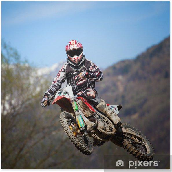 Plakat Free style motocross - Sporty ekstremalne
