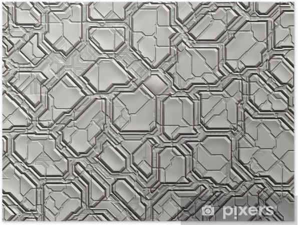 Plakat futuristic abstract tech backgrounds - Tła