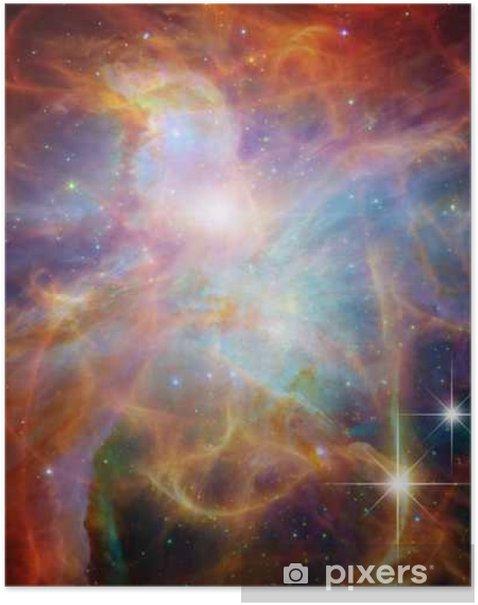 Plakat Galactic Space__Elements tego zdjęcia dostarczone przez NASA - Nauka