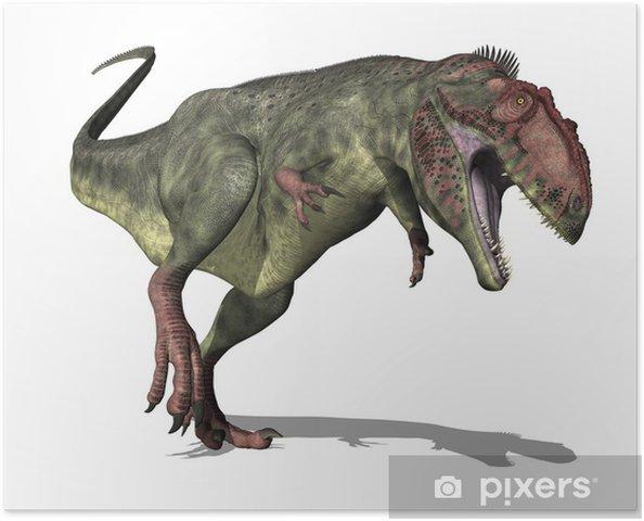 Plakát Giganotosaurus Dinosaur - Nálepka na stěny