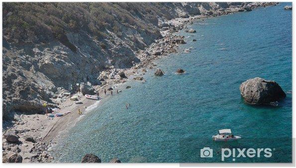 Plakat Giglio wyspa - Europa