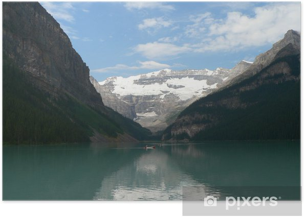 Plakat Gletschersee - Ameryka