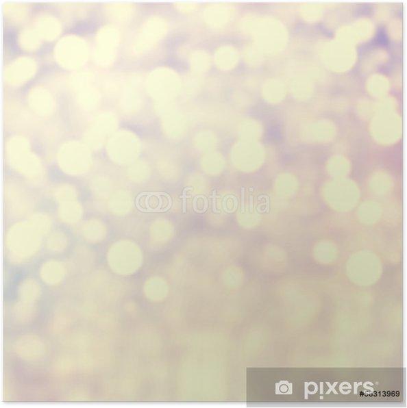 Plakát Gold Slavnostní Sparkle pozadí. Abstrakt zajiskřilo jasné hřbet - Mezinárodní svátky