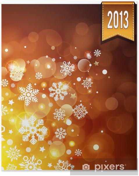 Plakát Gold světelný pozadí - Pozadí