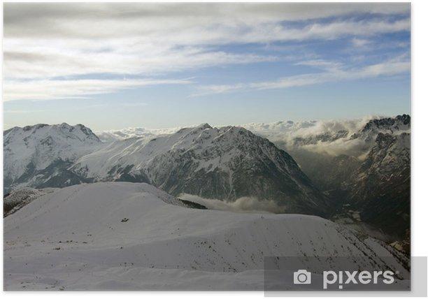Plakat Góry Alpe d'Huez (Francja) - Europa