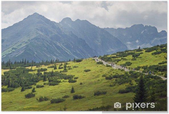 Plakat Góry Tatry