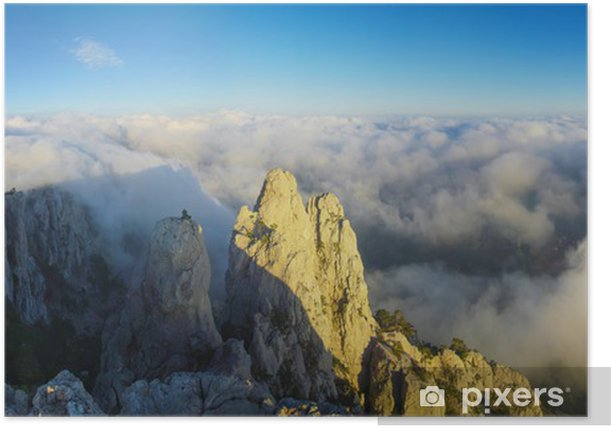 Plakat Góry - Niebo