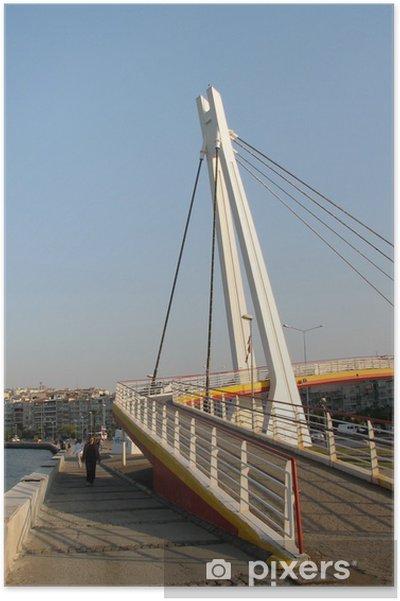Plakat Goztepe most w Izmirze 2 - Bliski Wschód