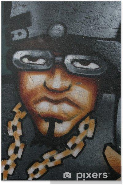 Plakát Graffiti, tag, rap, art, peinture, rubain, urbaine, kultura - Témata
