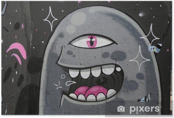 Plakát Graffiti - Témata