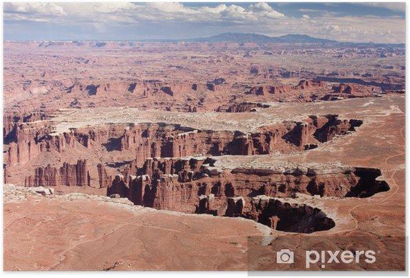 Plakat Grand View punkt wychodzą na Park Narodowy Canyonlands - Cuda natury