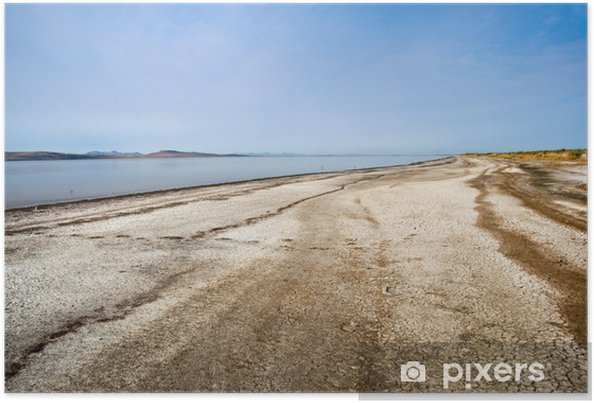 Plakát Great Salt Lake, Utah - USA - Amerika
