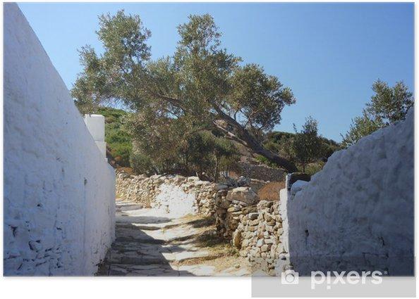 Plakat Grecja, Sifnos - Wakacje