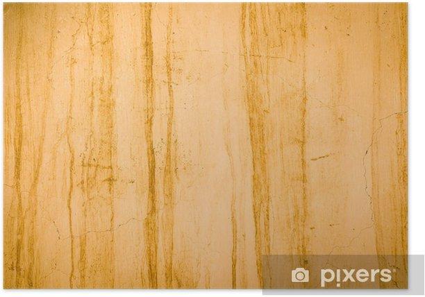 Plakat Grunge ścianie - Tła