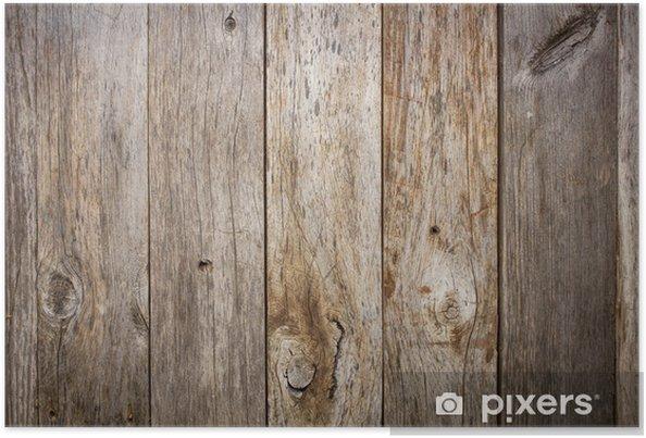 Plakat Grunge wyblakły drewna stodoła - iStaging