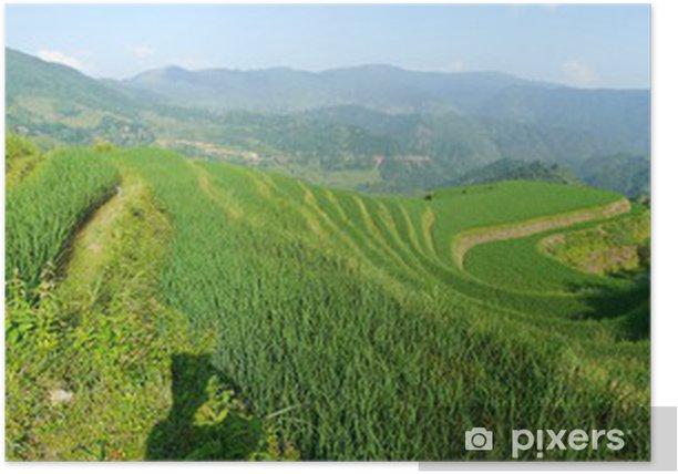 Plakat Guangxi ma Rizieres - Azja
