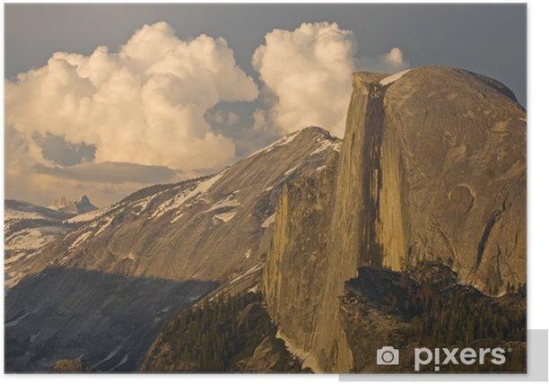 Plakat Half Dome Park Narodowy Yosemite - Ameryka