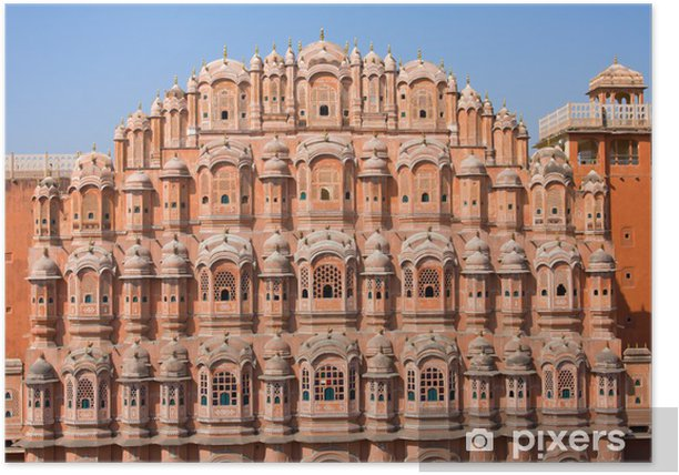Plakát Hawa Mahal je palác v Jaipur, Indie - Asie